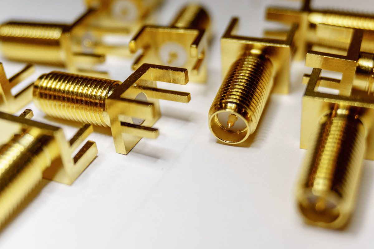 connector plating gold